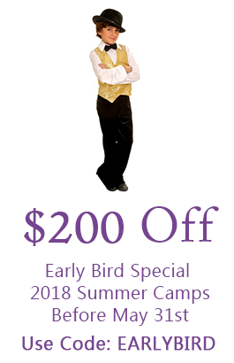 $200 Off Early Bird Special 2018 Summer Camps Before May 31st